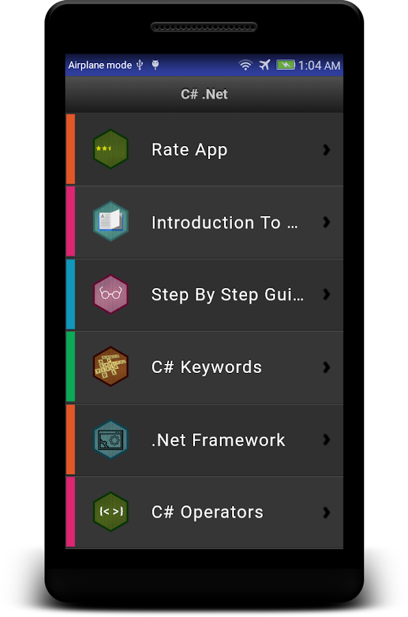 Learn C# - .Net - C Sharp Programming Tutorial App 4.1.0 APK ...