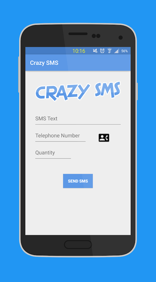 Crazy Prank SMS - SMS not free 1 5 APK Download - Android