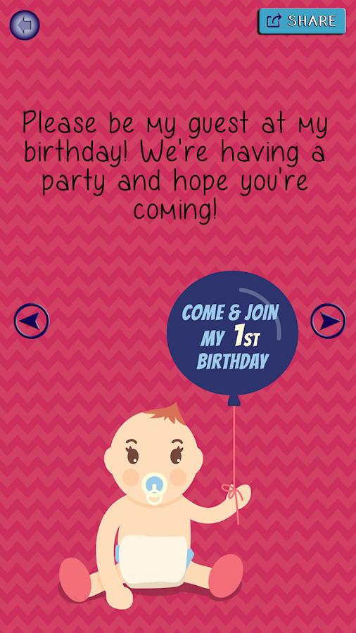 Birthday Party Invitations Invitation Card Maker 13 Apk Download