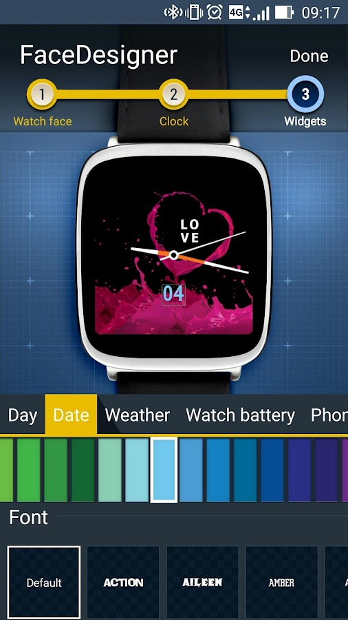 FaceDesigner:watch face making 2 0 0 160923 APK Download - Android