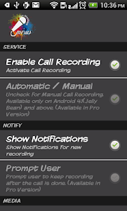 Call Recorder 2.4.1 screenshot 4