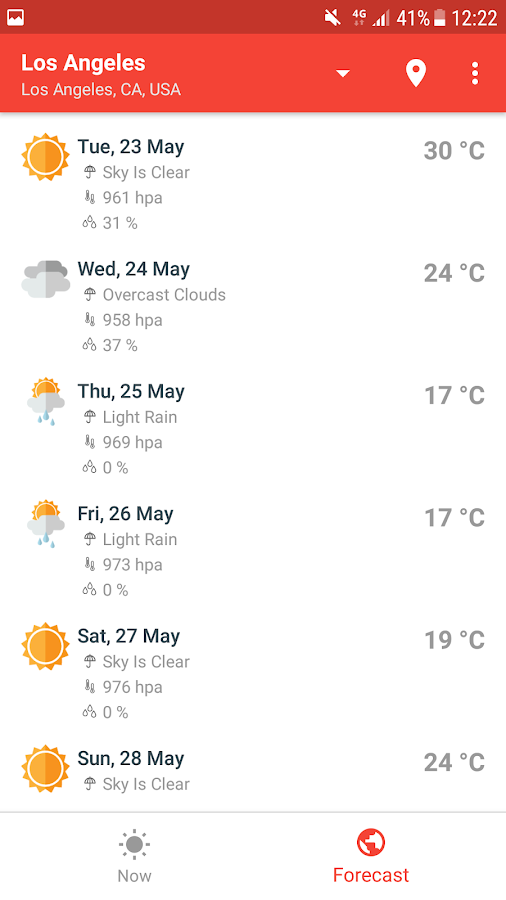 Weather 1 13 APK Download - Android Weather Apps
