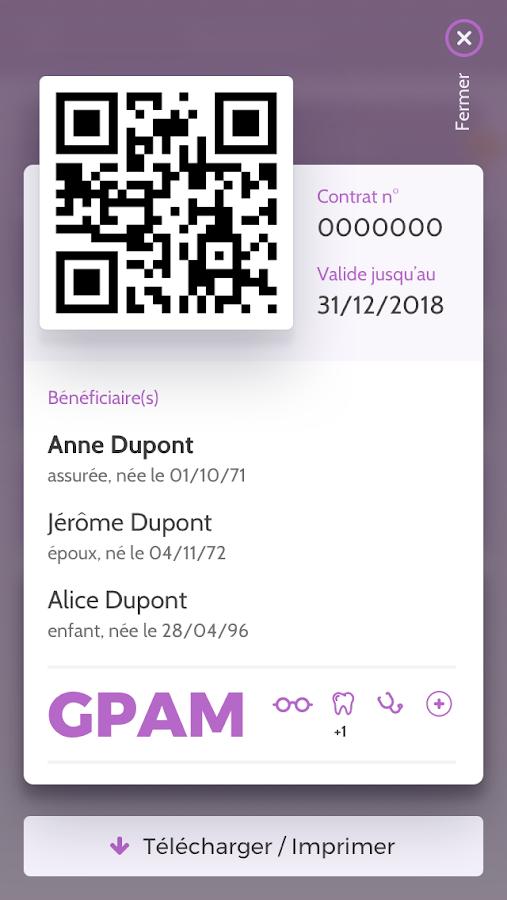 GPS GPAM, mon espace Santé 2 0 0 APK Download - Android Health