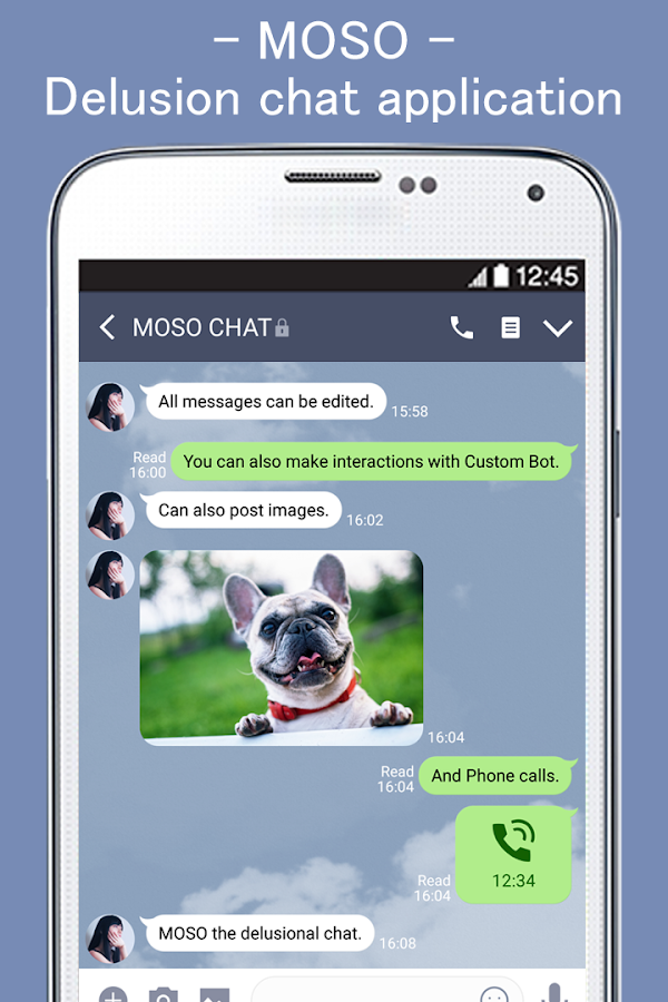MOSO - Chat of delusion with imaginary friends  4 13 2 APK