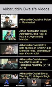 Akbaruddin Owaisi - AIMIM 1.0 screenshot 5