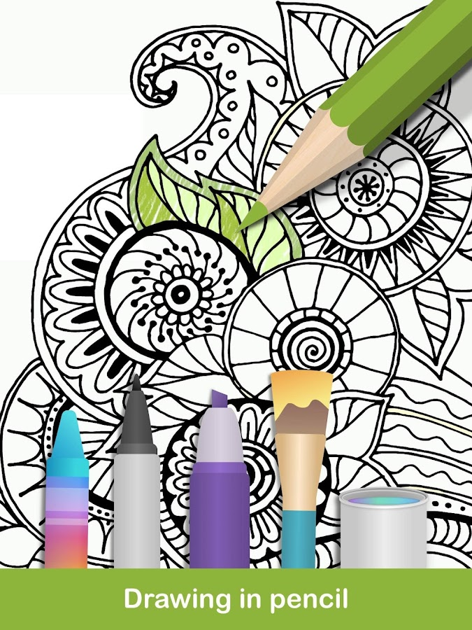 100 Mandala Coloring Pages 150 Screenshot 18