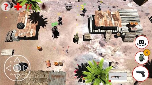 Shooting Zombies Free Game 1.0 screenshot 6