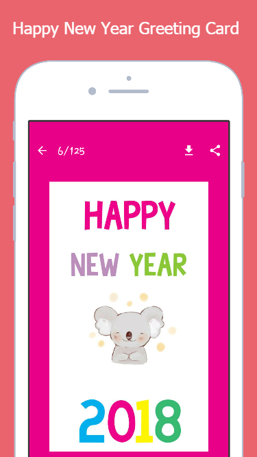 Happy New Year 2018 Greetings Card 16.0.1 APK Download - Android ...