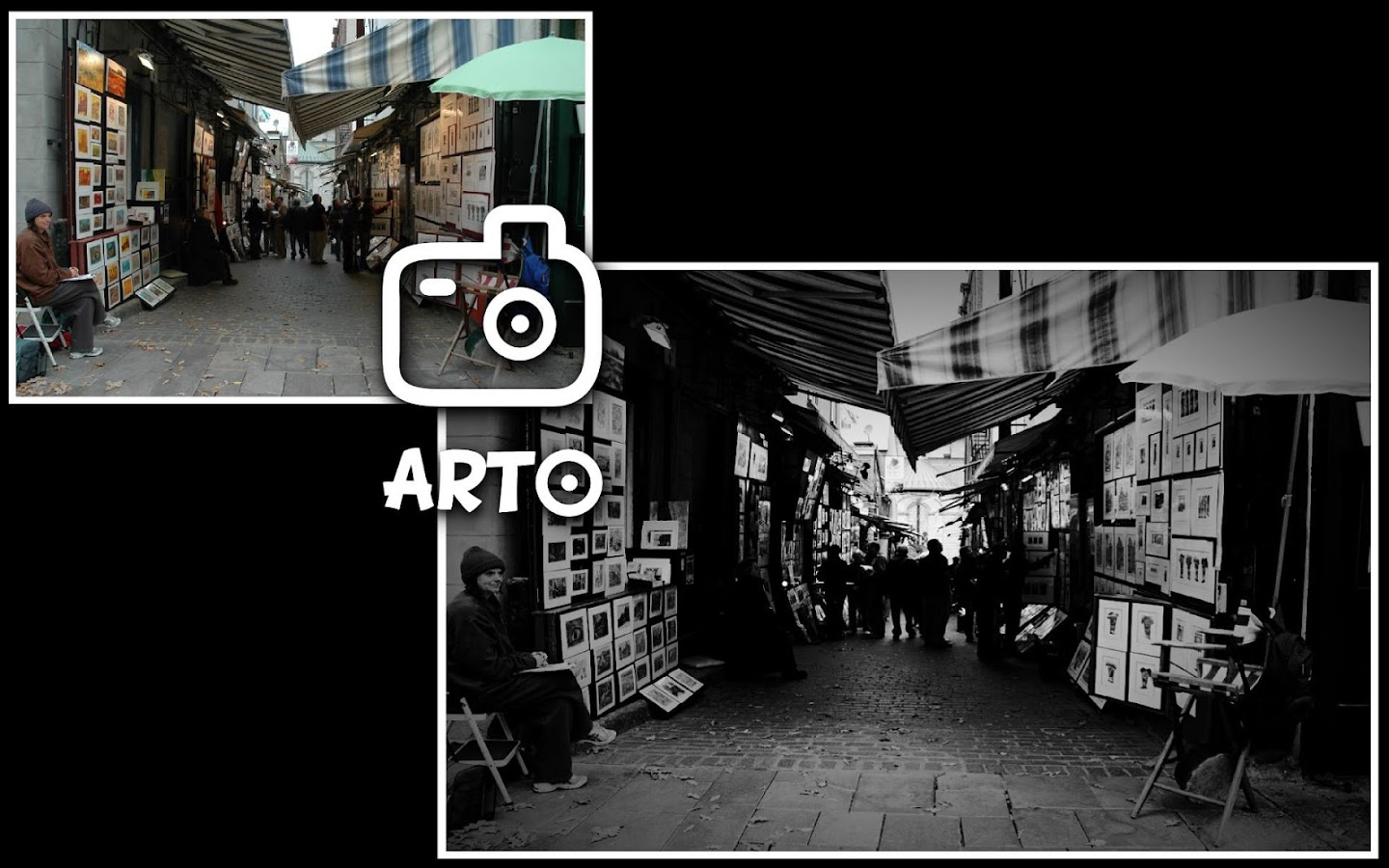 Arto black and white photo 3 2 screenshot 1