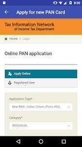 PAN Card Search, Scan, Verify & Application Status 1.0829 screenshot 2