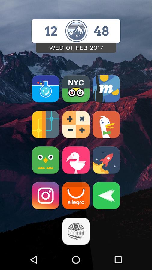 pixel icon pack nougat ui apk paid
