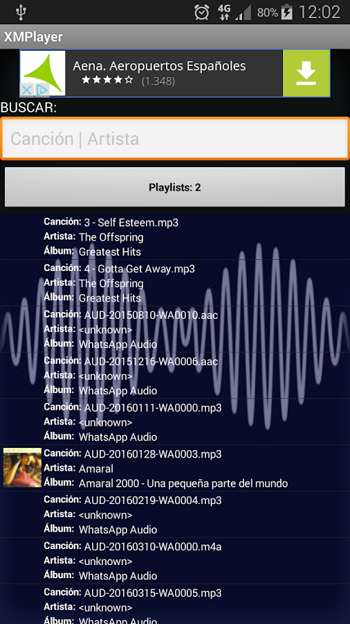 XMPlayer 4 0 APK Download - Android Music & Audio Apps
