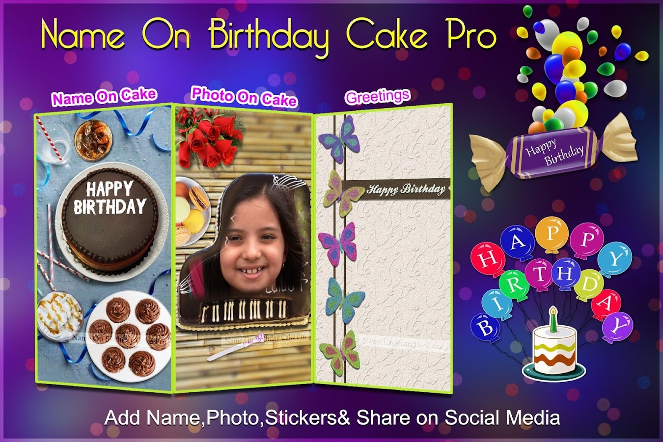 Cake Images With Name Nikhil : Photo On Birthday Cake 1.3 APK Download - Android ...