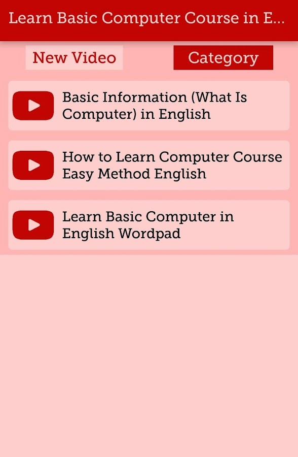 Learn basic computer course video learning guide 11 apk download learn basic computer course video learning guide 11 screenshot 5 fandeluxe Gallery