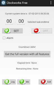 Clockworks - Free Clock Events 1.1 screenshot 1