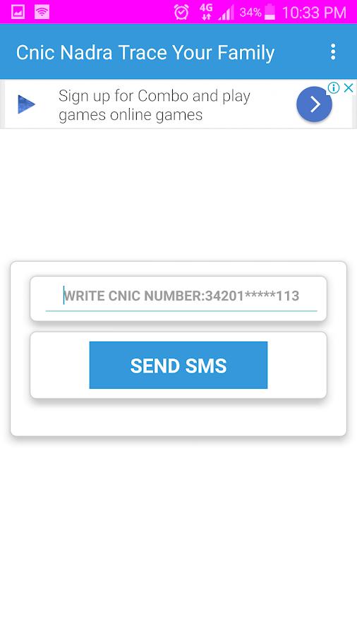 Nadra Cnic City Codes