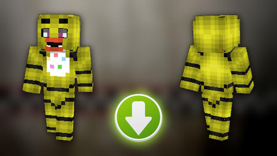 Skins Minecraft Fnaf 2 Apk
