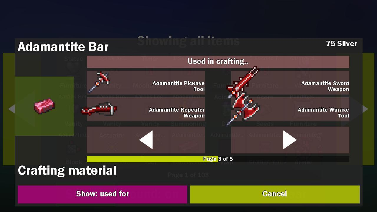 Craft tool for terraria 1 0 0 APK Download - Android Simulation Games