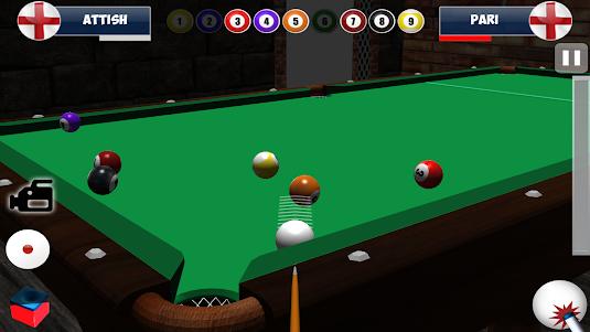 9 Ball Pool 3D Snooker 1.4 screenshot 2