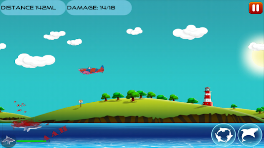 Angry Shark 1.0.4 screenshot 5