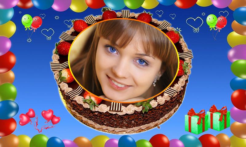 Name Photo on Birthday Cake – Love Frames Editor 1.0 APK Download ...
