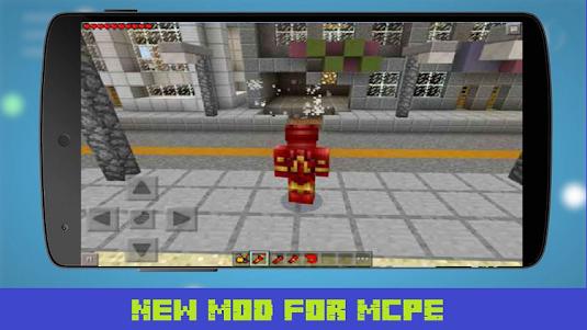 Mod New Iron Hero for MCPE 1.1 screenshot 1