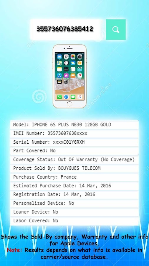 iCloud iMei Status Checker 2 0 APK Download - Android Tools Apps