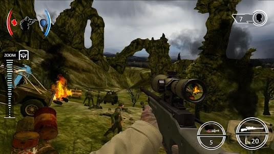Mountain Sniper Shooting: 3D FPS 7.6 screenshot 7
