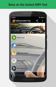 CA DMV Permit Test 2017 1.3 screenshot 1