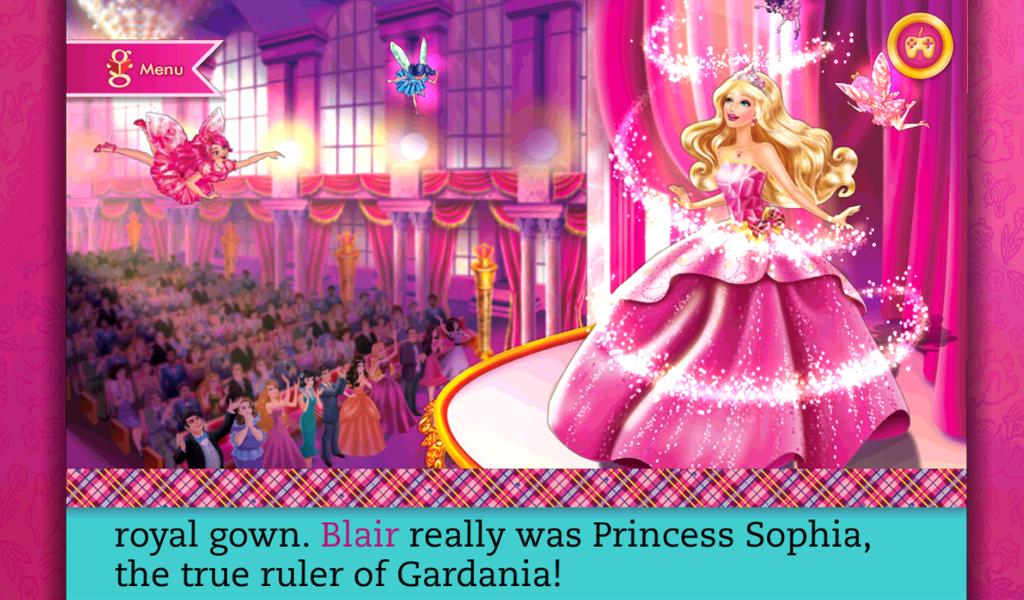 ... Barbie Princess Charm School 1.0 screenshot 6 ...