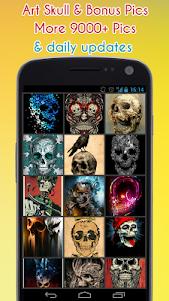 Skull Wallpaper 1.4 screenshot 1