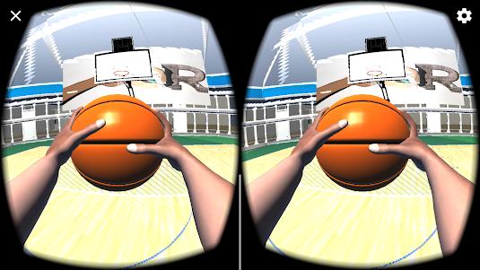 BASQUETE BASKETBALL VR FREE 1.0 screenshot 3