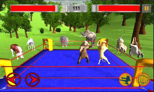 Real Animal Ring Fighting 1.0 screenshot 2