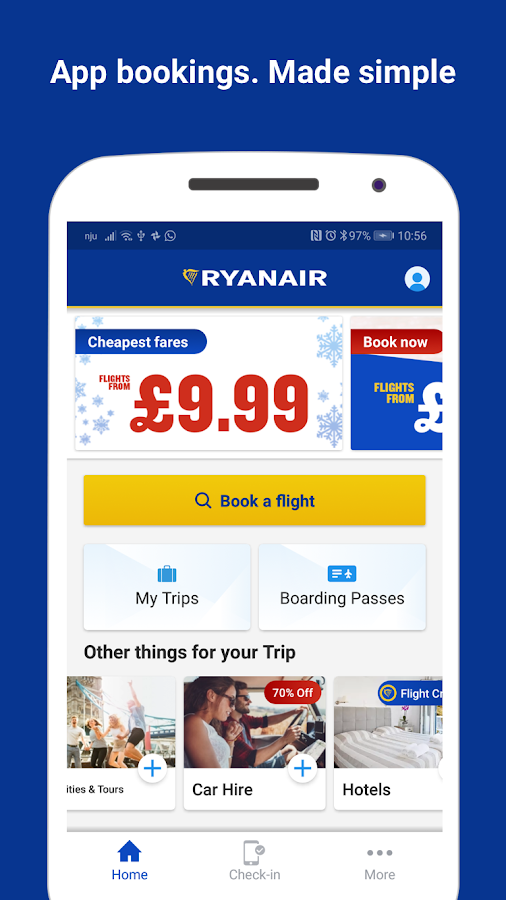 Ryanair - Cheapest Fares 3 69 1 APK Download - Android