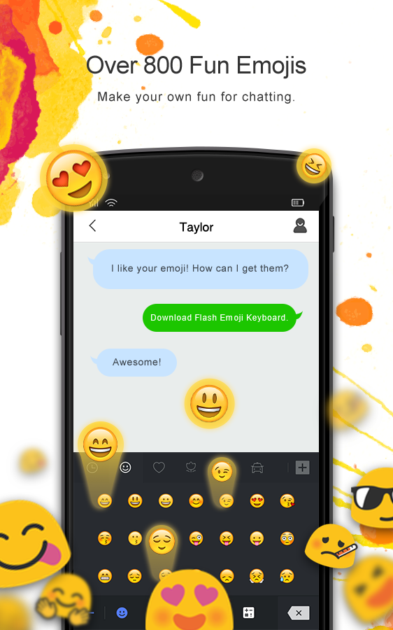 Flash Emoji Keyboard & Themes 1 0 1176 0213 APK Download