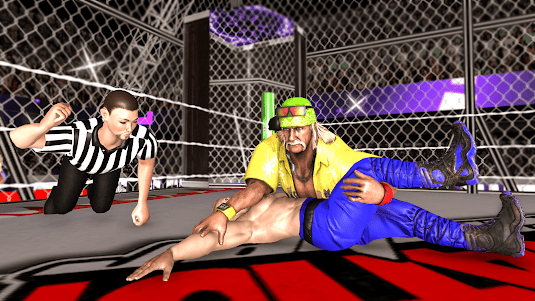 Chamber Wrestling Elimination Match: Fighting Game 1.2 screenshot 2