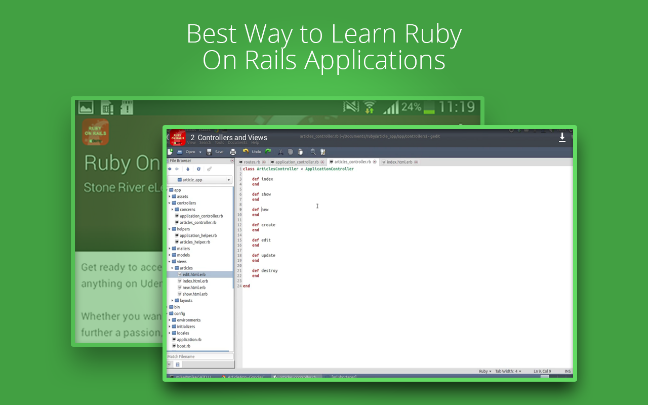 Learn Ruby On Rails by Udemy 1 9 APK Download - Android