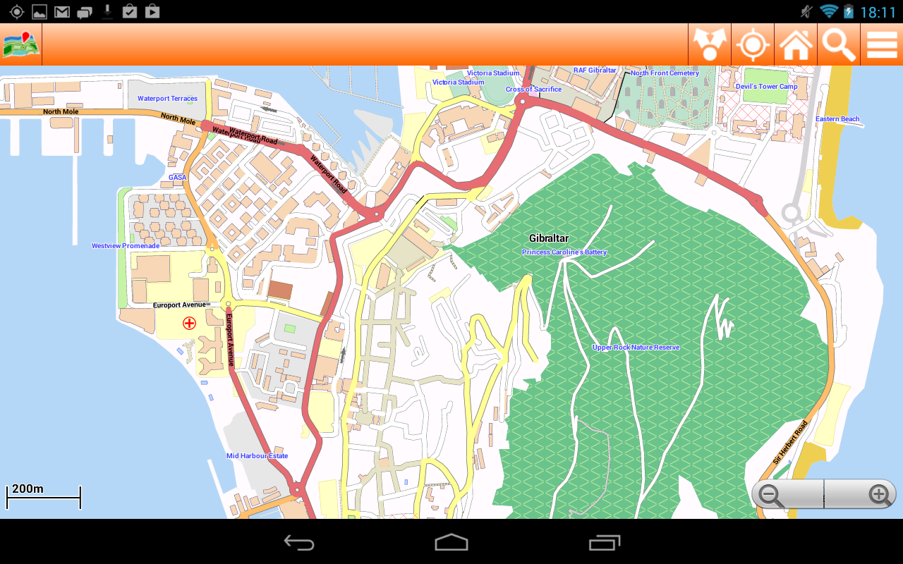 Map Of Spain For Android.Costa Del Sol Offline Map 1 13 Apk Download Android Travel Local