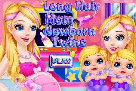Long Hair Mom Newborn Twins 1.0.0 screenshot 1