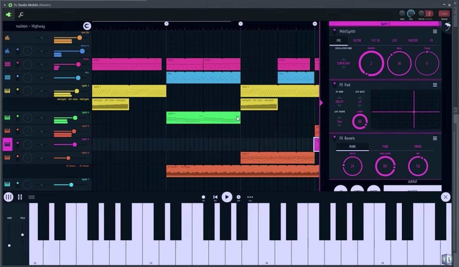 fl studio 12 free download android