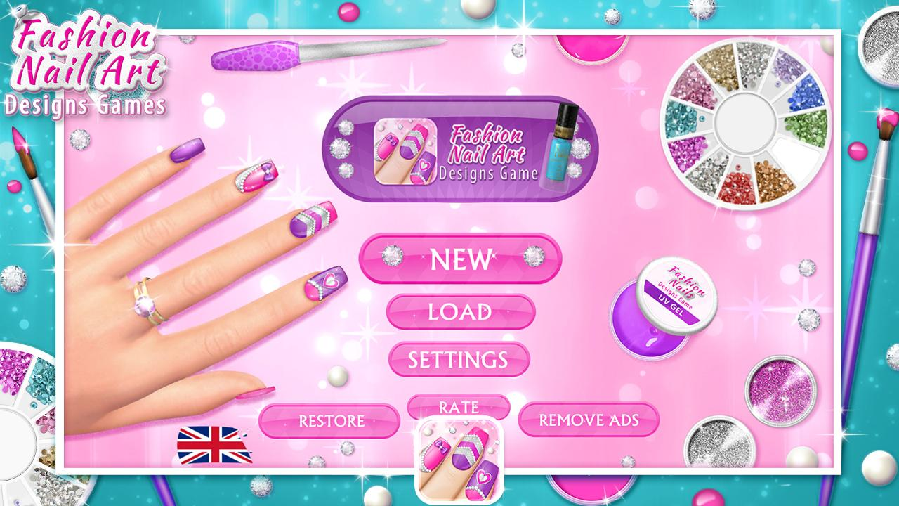 Fashion Nail Art Designs Game 7.0 APK Download - Android Simulation ...
