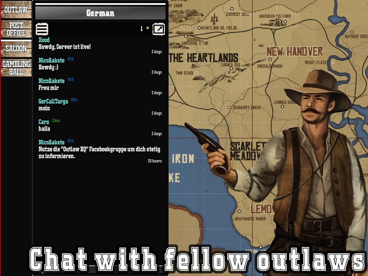 Outlaw HQ for Red Dead Redemption 2 0 0 2 APK Download