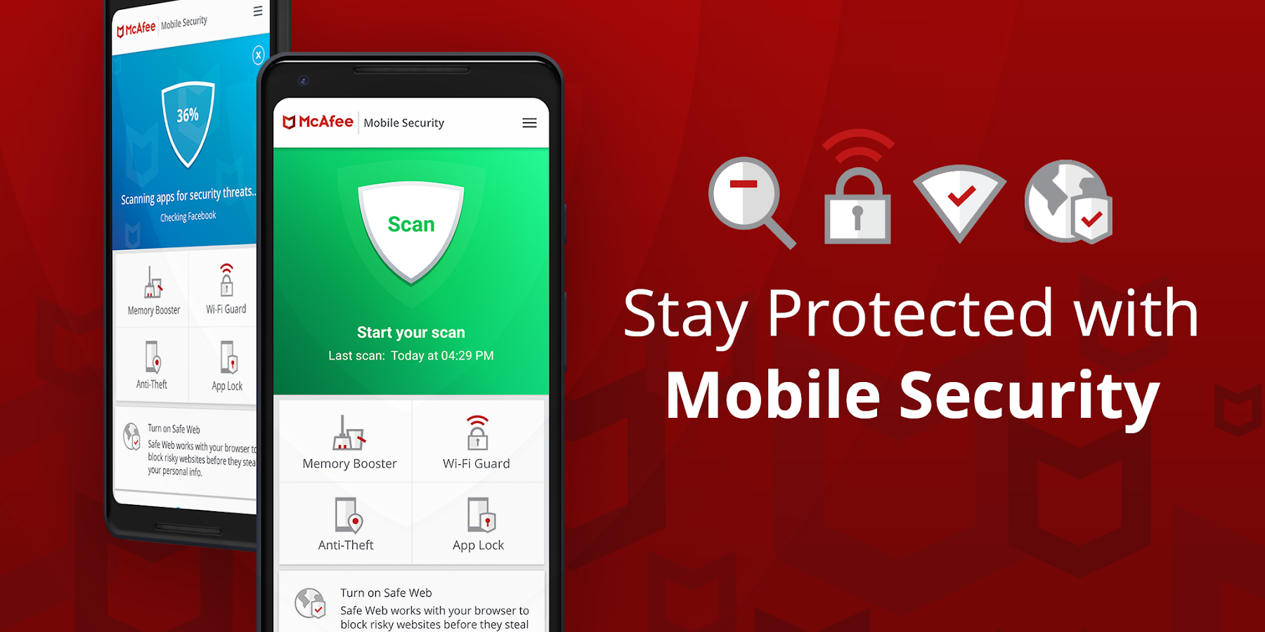 Mobile Security: VPN Proxy & Anti Theft Safe WiFi 5 2 0 286