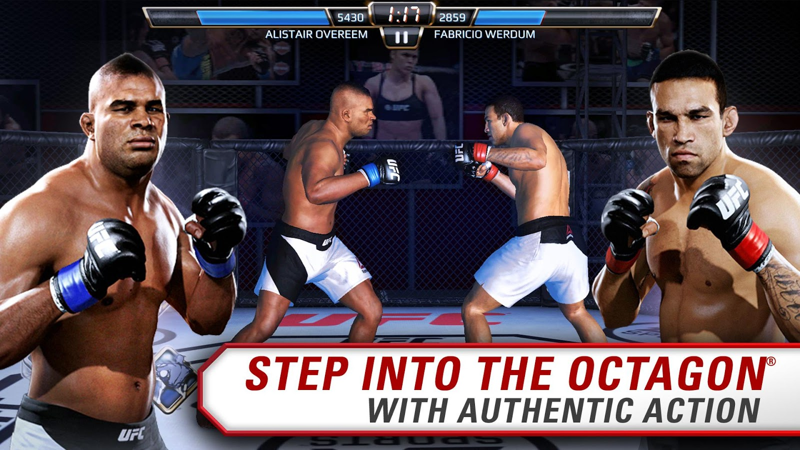 EA SPORTS UFC® 1 9 3786573 APK + OBB (Data File) Download