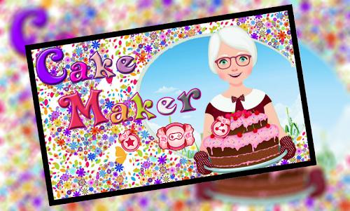 Cake Maker For Kids 1 screenshot 1