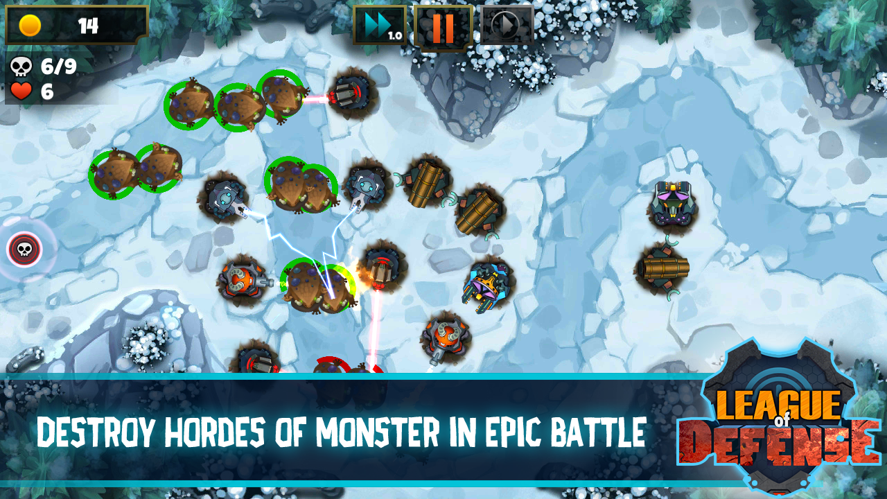 Tower Defense - League Of Defense 3 6 APK Download - Android