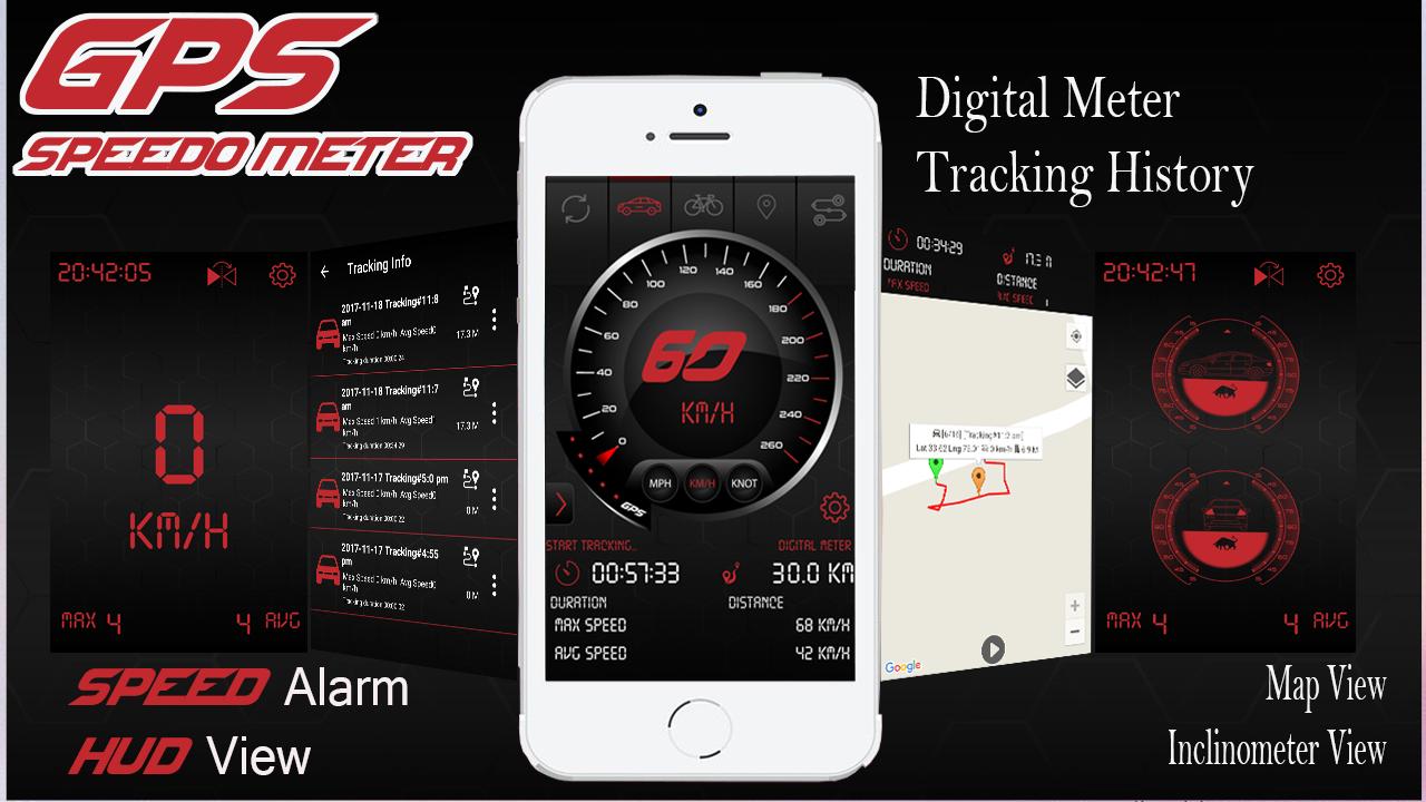 Digital GPS Speedometer Odometer Offline HUD View 1 2 6 APK