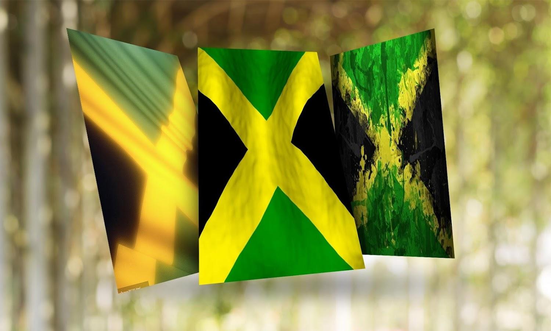 jamaica flag hd wallpaper best hd wallpaper