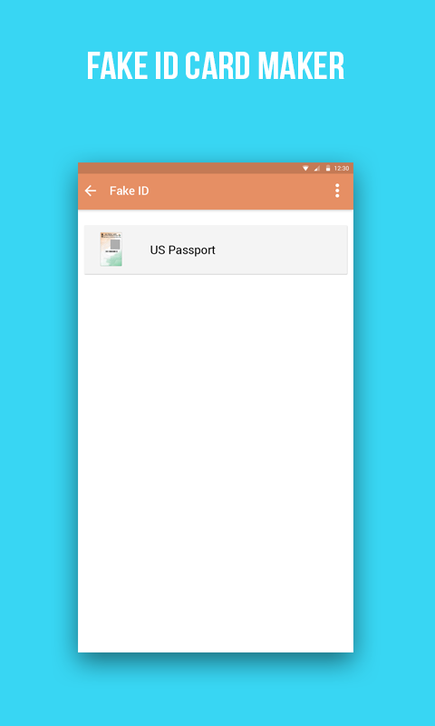Fake US Passport ID Maker 1 0 APK Download - Android