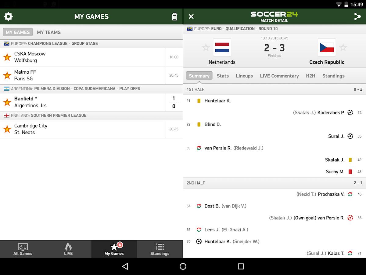 24 Live Soccer